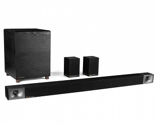 Klipsch Bar-48 + Surround 3. Soundbar z subwooferem i surround.